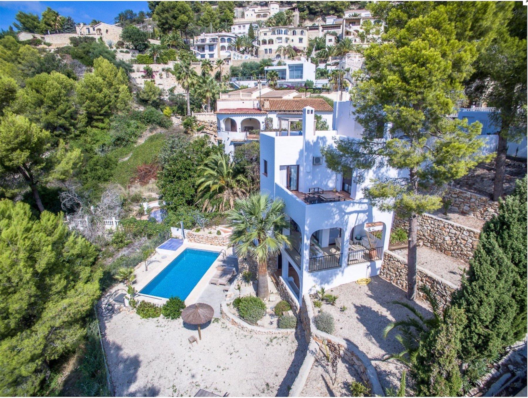 Een moderne eigentijdse stijl villas u ilhanalbayrak
