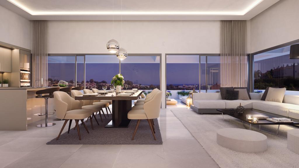 Design appartementen met eigen privé zwembad
