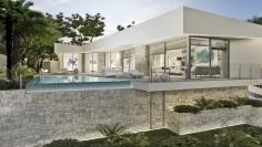 Luxe designvilla met zeezicht in Benitachell