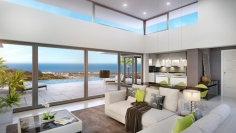 Super new villa with stunning sea view