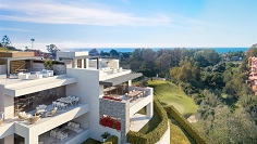 Beautiful contemporary sea view apartements for sale in sought after Cabopino