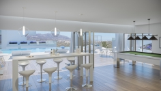 Fantastische zeezicht appartementen en penthouses op eerste klas resort