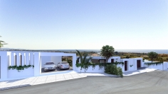 Magnificent contemporary sea view villas in a prime location close to Marbella
