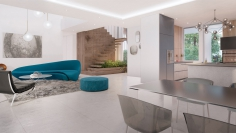 Moderne nieuwbouw villa met prachtig zeezicht en op loopafstand van het strand