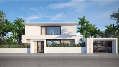 Very well priced new build villas for sale walking distance to the beach and harbour