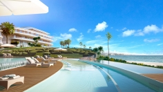 Spectacular beachfront design apartments