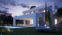 Contemporary new build villas in beautiful surroundings