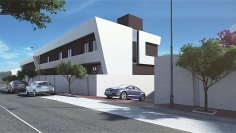 Design townhouses walking to the beach