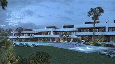 Moderne townhouses op loopafstand strand