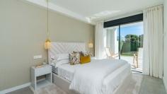 Design townhouses met golf- en zeezicht in Cabopino