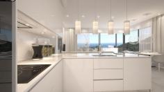 Hightech design appartementen met schitterend zeezicht