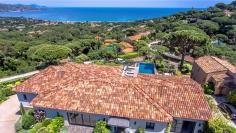 Spectaculaire nieuwe design villa met fenomenaal uitzicht over de Golf van Saint Tropez