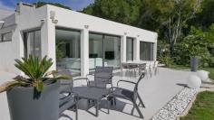 Geweldige moderne villa dicht bij het strand