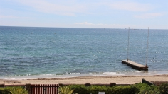 Unique frontline beach villa for sale on La Nartelle beach Sainte Maxime