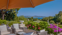 Amazing luxurious dream estate in private domain overlooking the bay of Saint Tropez
