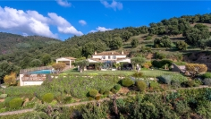 Stunning luxurious villa with breathtaking views in protected green area yet close to everything
