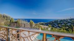 Schitterende modern Provencaalse villa met fantastisch panoramisch zeezicht