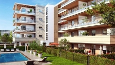 Brand new apartment with rooftop terrace in excellent location in Antibes