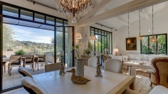 Beautiful villa with stunning views on St Paul de Vence