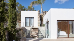 Beautiful modern Ibiza style villa close to the Cala Jondal beach