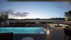 Stunning frontline designer apartments for sale in Talamanca