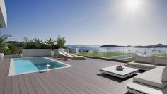 Unieke design appartementen direct aan zee op toplocatie Talamanca!