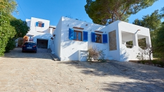 Authentic Ibiza property with stunning sea views and huge potential to add value