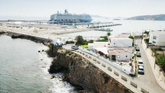 Unieke woning direct aan zee op loopafstand van het strand van Talamanca en Marina Botafoch