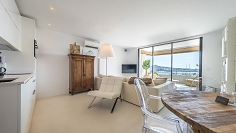 Fully renovated top floor apartment with breath-taking views over Ibiza Port
