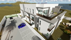 New build modern apartments for sale close to Talamanca beach and Marina Botafoch