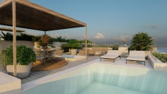 Stunning high end apartment with private pool and sea views in prime location Talamanca