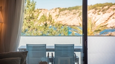 Brand new frontline beach apartment for sale in Cala Vadella