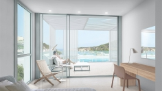 Stunning new build penthouse with amazing sea views only 75 m from the beach