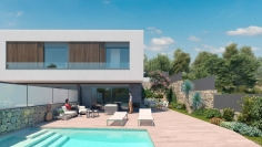 New build contemporary villas for sale in Talamanca