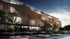 High tech designer apartments in Talamanca at walking distance to the beach