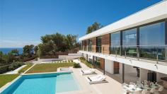 Schitterende moderne villa in beveiligd privé domein