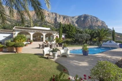 Sfeervolle villa met schitterend uitzicht in Javea