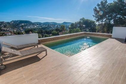 Zeer mooie sfeervolle nieuw gebouwde villa in Moraira