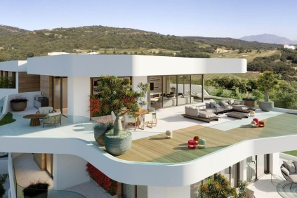 Contemporary homes with state of the art facilities in Europe's nr 1 resort