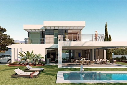 New build contemporary villas close to Marbella