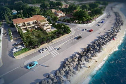 Unique seafront development of luxury apartments in Sainte Maxime La Nartelle