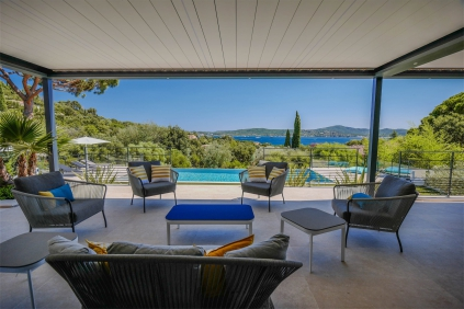 Magnificent high quality modern villa with stunning views of Saint Tropez