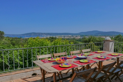 Beautiful villa overlooking Port Grimaud