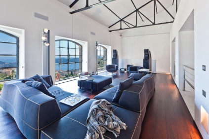 Exceptional industrial style loft overlooking Cap Ferrat