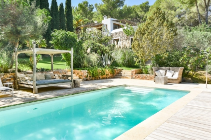 Stunning Ibiza estate offering full privacy surrounded by nature yet close to Ibiza town
