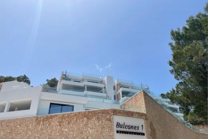 Fantastisch nieuw Ibiza appartement op korte  loopafstand van het strand van Cala Vadella