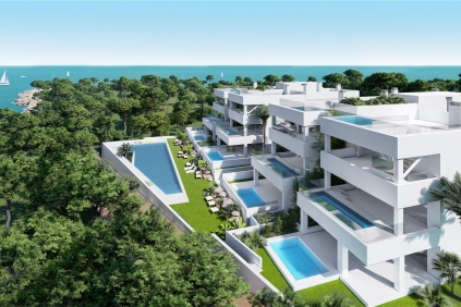 Stunning beach apartments with private plunge pools and amazing sea views