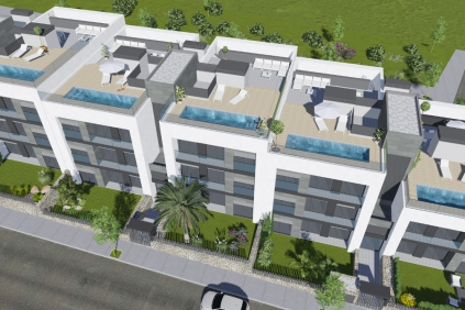 Uniek: Moderne nieuwbouw appartementen op loopafstand van Talamanca strand!