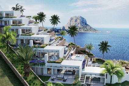 High-tech design woningen met spectaculair uitzicht op Es Vedra