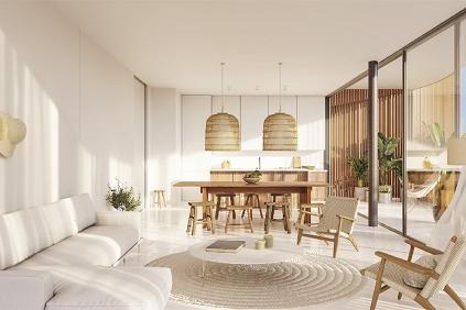 Zeer ruim nieuwbouw design appartement op toplocatie Talamanca